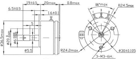 saj2515  u0026 wdj36f spring return potentiometers